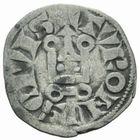 Photo numismatique  MONNAIES ROYALES FRANCAISES PHILIPPE IV LE BEL (5 octobre 1285-30 novembre 1314)  Obole � l'O rond.