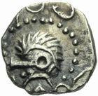 Photo numismatique  MONNAIES PEUPLES BARBARES MEROVINGIENS CITES Indéterminé Denier du VIIIème siècle.