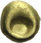Photo numismatique  MONNAIES GAULE - CELTES SENONES-CARNUTES (Seine et vallée de la Loire moyenne)  Quart de globule en or.