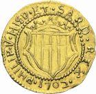 Photo numismatique  MONNAIES MONNAIES DU MONDE ITALIE SARDAIGNE, Philippe V (1700-1724-1746) Scudo d'or, Cagliari 1702.