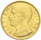 Photo numismatique  MONNAIES MONNAIES DU MONDE ITALIE SAVOIE-SARDAIGNE, Victor Emmanuel III (1900-1943) 50 lire or, 1932.