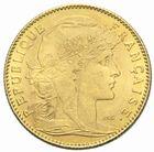 Photo numismatique  MONNAIES MODERNES FRANÇAISES 3ème REPUBLIQUE (4 septembre 1870-10 juillet 1940)  10 francs or, 1900.