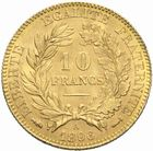 Photo numismatique  MONNAIES MODERNES FRANÇAISES 3ème REPUBLIQUE (4 septembre 1870-10 juillet 1940)  10 francs or, 1896.