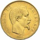 Photo numismatique  MONNAIES MODERNES FRANÇAISES NAPOLEON III, empereur (2 décembre 1852-1er septembre 1870)  50 francs or, 1855.