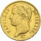 Photo numismatique  MONNAIES MODERNES FRANÇAISES NAPOLEON Ier, empereur (18 mai 1804- 6 avril 1814)  40 francs or, 1811.