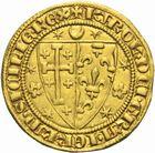 Photo numismatique  MONNAIES MONNAIES DU MONDE ITALIE NAPLES, Charles Ier d'Anjou (1246-1285) Salut d'or, après 1278.