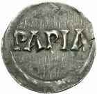 Photo numismatique  MONNAIES CAROLINGIENS LOTHAIRE Ier, empereur (817-855)  Denier de Pavie.