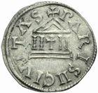 Photo numismatique  MONNAIES CAROLINGIENS CHARLES LE CHAUVE, roi (840-875)  Denier de Paris, frappé avant 864.