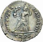 Photo numismatique  MONNAIES EMPIRE ROMAIN THÉODOSE II (408-450)  Silique de Trèves, frappée entre 378 et 383