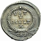 Photo numismatique  MONNAIES EMPIRE ROMAIN GRATIEN (367-383)  Silique frappée à Constantinople, entre 367 et 375.