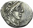 Photo numismatique  MONNAIES GAULE - CELTES NEMAUSUS (Nîmes)  Obole.