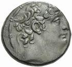 Photo numismatique  MONNAIES GRECE ANTIQUE ASIE MINEURE. Rois de SYRIE Philippe Philadelphe (92-83) Tétradrachme.