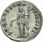 Photo numismatique MONNAIES EMPIRE ROMAIN TRAJAN (98-117) Denier frappé à Rome en 108/111.