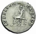 Photo numismatique MONNAIES EMPIRE ROMAIN NERON (54-68) Denier frappé à Rome, 64/66.