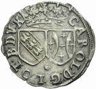 Photo numismatique  MONNAIES BARONNIALES Duché de LORRAINE CHARLES IV Réintégré (1661-1670) Gros frappé à Nancy.