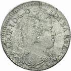 Photo numismatique  MONNAIES BARONNIALES Duché de LORRAINE LEOPOLD Ier (1690-1729) Teston frappé en 1713.
