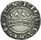 Photo numismatique  MONNAIES BARONNIALES Comté de PROVENCE ROBERT d'ANJOU (1309-1343) Provençal coronat.