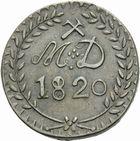 Photo numismatique  MONNAIES MODERNES FRANÇAISES LOUIS XVIII, 2e restauration (8 juillet 1815-16 septembre 1824) Monnaie de nécessité des mines d'Aniche 30 sous de 1820.