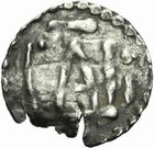 Photo numismatique  MONNAIES CAROLINGIENS CHARLEMAGNE, roi (768-800) empereur (800-814)  Denier frappé à Chalon sur Saône avant 794.