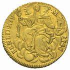 Photo numismatique  MONNAIES MONNAIES DU MONDE ITALIE SAINT-SIEGE, Benoît XIV (1740-1758) Sequin d'or frappé à Rome en 1746.