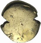 Photo numismatique  MONNAIES IBERIE- GAULE - CELTES AMBIANI (Bassin de la Somme)  Statère uniface.