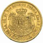 Photo numismatique  MONNAIES MONNAIES DU MONDE ITALIE PARME. Marie Louise (14 septembre 1815-16 décembre 1847) 40 lire or frappée à Milan en 1815.