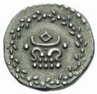 Photo numismatique  MONNAIES MONNAIES DU MONDE INDE Présidence de MADRAS (1812-1817) Huitième de roupie.
