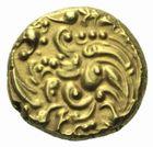 Photo numismatique  MONNAIES MONNAIES DU MONDE INDE Gangas de l'Ouest Pagode d'or.