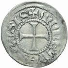 Photo numismatique  MONNAIES BARONNIALES Cité de METZ (Fin XIVe - début XVe siècle) Demi-bugne.