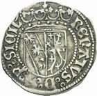 Photo numismatique  MONNAIES BARONNIALES Duché de LORRAINE RENE II (1473-1508) Demi gros de Nancy.