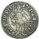 Photo numismatique  MONNAIES BARONNIALES Duché de LORRAINE RENE Ier (1419-1480) Gros de Saint-Mihiel.