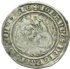 Photo numismatique  MONNAIES BARONNIALES Duché de BRETAGNE JEAN IV (1345-1399) Gros au lion à la targe.