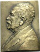 Photo numismatique  ARCHIVES VENTE 2012 DERNIÈRE MINUTE MEDAILLE. ALGERIE  872- Gaston THOMSON, député de Constantine. Plaque.