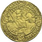 Photo numismatique  ARCHIVES VENTE 2012 DERNIERE MINUTE ALLEMAGNE. SAXE. JEAN-GEORGE (1615-1656)  869-  Deux ducats de 1630.