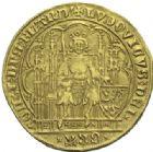 Photo numismatique  ARCHIVES VENTE 2012 DERNIÈRE MINUTE FLANDRE. LOUIS DE MAELE (1346-1384)  868- Chaise d'or.