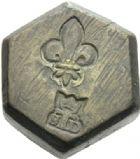 Photo numismatique  ARCHIVES VENTE 2012 POIDS DE VILLE LILLE (Nord)  817- Poids d'un huitième de livre, XVIIIe.