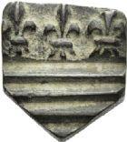 Photo numismatique  ARCHIVES VENTE 2012 POIDS DE VILLE BÉZIERS (Hérault)  812- Une once (16e de livre).