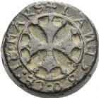 Photo numismatique  ARCHIVES VENTE 2012 POIDS DE VILLE CASTELSARRASIN (Tarn-et-Garonne)  811- Poids d'une demi-livre, émission de 1580.