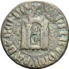 Photo numismatique  ARCHIVES VENTE 2012 POIDS DE VILLE BORDEAUX (Gironde)  809- Poids d'une demi-livre, émission de 1316.