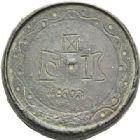Photo numismatique  ARCHIVES VENTE 2012 POIDS DE VILLE BYZANCE  804- Sextans, poids de 2 onces.