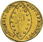 Photo numismatique  ARCHIVES VENTE 2012 MONNAIES DU MONDE ITALIE VENISE, Ludocico Manin (1789-1797) 800- Sequin d'or.