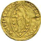 Photo numismatique  ARCHIVES VENTE 2012 MONNAIES DU MONDE ITALIE VENISE, Alvise III Mocenigo (1722-1732) 799- Sequin d'or.
