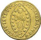 Photo numismatique  ARCHIVES VENTE 2012 MONNAIES DU MONDE ITALIE VENISE, Alvise II Mocenigo (1700-1709) 798- Sequin d'or.