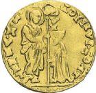 Photo numismatique  ARCHIVES VENTE 2012 MONNAIES DU MONDE ITALIE VENISE, Alvise Contarini (1676-1684) 796- Sequin d'or.