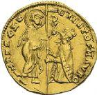 Photo numismatique  ARCHIVES VENTE 2012 MONNAIES DU MONDE ITALIE VENISE, Cristoforo Moro (1462-1471) 793- Cristoforo Moro (1462-1471). Ducat d'or.