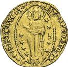 Photo numismatique  ARCHIVES VENTE 2012 MONNAIES DU MONDE ITALIE VENISE, Francesco Foscari (1423-1457) 792- Ducat d'or.