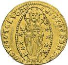Photo numismatique  ARCHIVES VENTE 2012 MONNAIES DU MONDE ITALIE VENISE, Andrea Contarini (1368-1382) 789- Ducat d'or.
