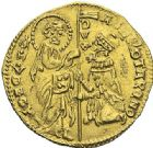 Photo numismatique  ARCHIVES VENTE 2012 MONNAIES DU MONDE ITALIE VENISE, Andrea Contarini (1368-1382) 788- Ducat d'or.