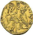 Photo numismatique  ARCHIVES VENTE 2012 MONNAIES DU MONDE ITALIE VENISE, Giovanni Delfino (1356-1361) 787- Ducat d'or.