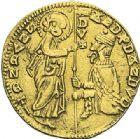 Photo numismatique  ARCHIVES VENTE 2012 MONNAIES DU MONDE ITALIE VENISE, Andrea Dandolo (1343-1354) 786- Ducat d'or.